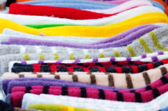 Traditional woollen stuff Royalty Free Stock Image