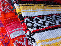 Traditional Woven Blankets Royalty Free Stock Image