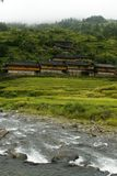 Traditional Yao Houses in Longsheng County Stock Photography