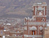 Traditional Yemen house Royalty Free Stock Image