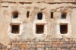 Traditional Yemen windows Royalty Free Stock Image