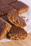 Traditional Yorkshire Parkin for Bonfire Night Royalty Free Stock Image