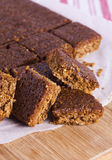 Traditional Yorkshire Parkin for Bonfire Night Royalty Free Stock Photo