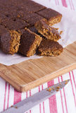 Traditional Yorkshire Parkin for Bonfire Night Stock Images