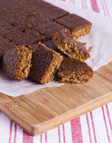 Traditional Yorkshire Parkin for Bonfire Night Royalty Free Stock Photography