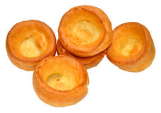 Traditional Yorkshire Puddings Royalty Free Stock Photos