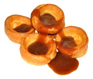 Traditional Yorkshire Puddings Royalty Free Stock Photography