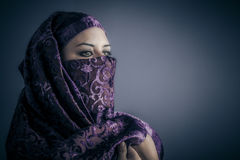 Traditional, Young Arabic woman. Stylish portrait Royalty Free Stock Image
