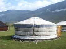 Traditional yurt Stock Photo