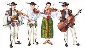 Free Traditional Zakopane Folk Band Stock Images - 155752334