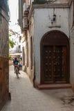 Traditional zanzibar door Royalty Free Stock Photography