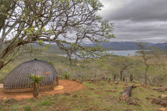 Traditional Zulu Hut Royalty Free Stock Photo