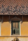 traditionali вихруна kathmandu Непала дома Стоковое Изображение