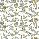 Traditionall portuguese swallow and azulejo tiles background. stock illustration