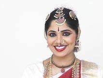 A traditionally attired asian bride. Traditionally attired asian bride from india Stock Photography
