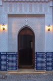 Traditionally decorated gate, Marrakesh, Morocco Royalty Free Stock Photo