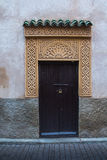Traditionally decorated gate, Marrakesh, Morocco Stock Photos