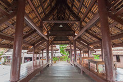 Traditionally thai architecture house Royalty Free Stock Photos