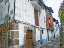 Traditionals buildings on jewish neighborhood in Hervas, Spain Royalty Free Stock Photography