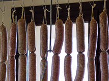 Traditionals pork's sausages Royalty Free Stock Image