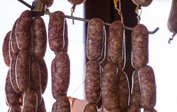 Traditionals pork's sausages Royalty Free Stock Photo