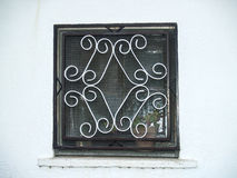 Traditionals window on jewish neighborhood in Hervas, Spain Stock Photography