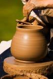 Traditioneel aardewerk stock afbeelding