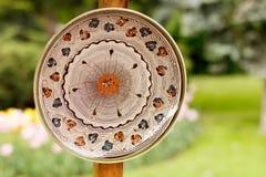 Traditioneel aardewerk van Roemenië stock afbeeldingen