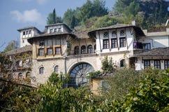 Traditioneel Albanees huis Stock Fotografie