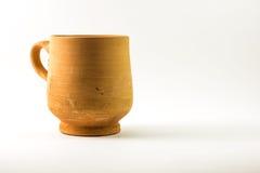 Traditioneel Arabisch Clay Cup Royalty-vrije Stock Foto's