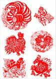 Traditioneel Artistiek Patroon Stock Afbeeldingen