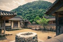 Traditioneel Aziatisch Dorp Royalty-vrije Stock Foto's