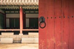 Traditioneel Aziatisch Dorp Stock Foto