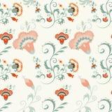 Traditioneel Aziatisch naadloos gedetailleerd vectorpatroon Royalty-vrije Stock Foto
