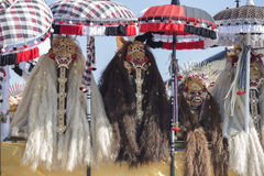 Traditioneel Balinees Barong-masker in Indonesië Stock Afbeeldingen