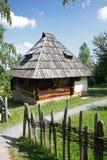 Traditioneel Balkan herdershuis Stock Afbeelding