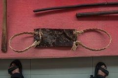 Traditioneel Bataknese-Hulpmiddel Royalty-vrije Stock Foto