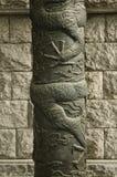 Traditioneel beeldhouwwerk in Seoel Zuid-Korea Royalty-vrije Stock Foto's
