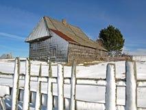 Traditioneel berghuis Stock Afbeelding