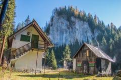 Traditioneel berghuis Royalty-vrije Stock Foto's