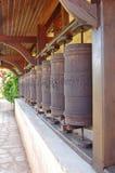 Traditioneel boeddhismemantra wiel Royalty-vrije Stock Foto's