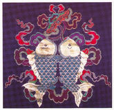 Traditioneel borduurwerk Royalty-vrije Stock Afbeelding