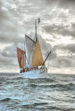Traditioneel Britton-schip Stock Foto