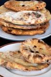 Traditioneel brood Naan. Royalty-vrije Stock Afbeelding