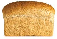 Traditioneel brood van graanschuur bruin brood op een wit Royalty-vrije Stock Afbeelding