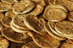 Traditioneel brood van xinjiang, China Royalty-vrije Stock Afbeelding