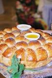 Traditioneel Bulgaars brood royalty-vrije stock afbeelding