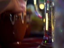 Traditioneel Bulgaars Clay Cups stock video
