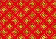 Traditioneel Chinees patroonba Stock Afbeelding