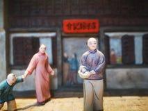 Traditioneel Chinees rijstebrijmuseum in Jiaxing royalty-vrije stock afbeeldingen